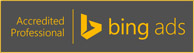 Bing Ads Accredited Professional Logo